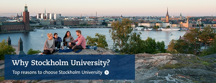 Top reasons to choose Stockholm University
