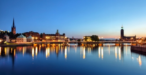 Stockhom by night