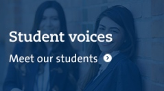 Student voices- meet our students