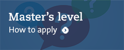 How to apply master's level