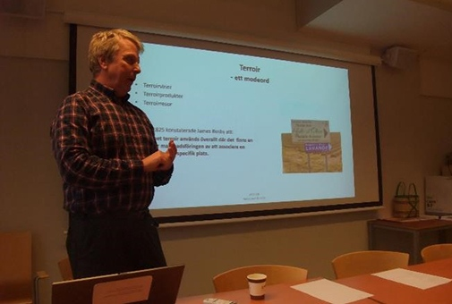 NAFS symposium, presentation by Odd Nygård