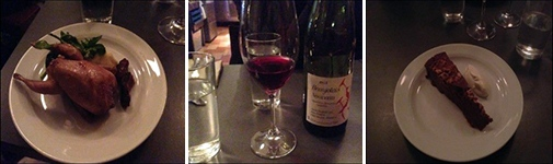 As the work shop coincided with the release of 2015's Beaujolais Noveau we continued the interesting discussions at the French restaurant Babette in Stockholm.