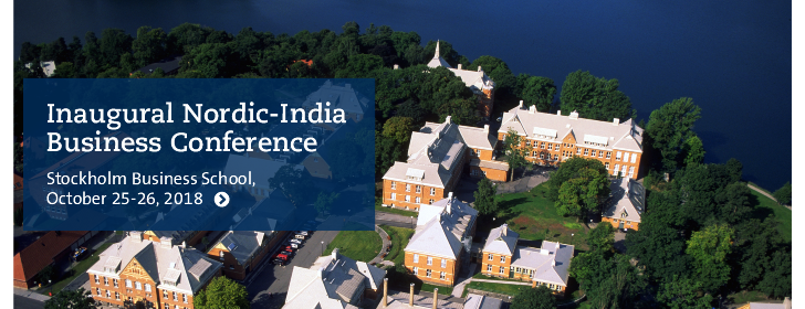Inaugural Nordic-India Business Conference