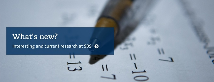 Read about research and news at SBS