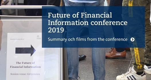 The Future of Financial Information 2019